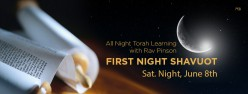 All Night Shavuot Torah Experience