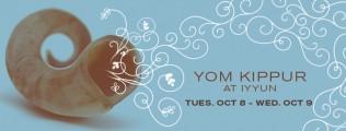 Yom Kippur @ The IYYUN Center