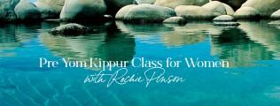 Pre-Yom Kippur Women's Class