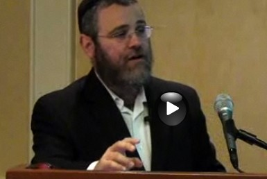 rabbi pinson speaking